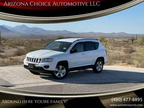 2011 Jeep Compass for sale at Arizona Choice Automotive LLC in Mesa AZ