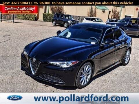 2018 Alfa Romeo Giulia for sale at South Plains Autoplex by RANDY BUCHANAN in Lubbock TX