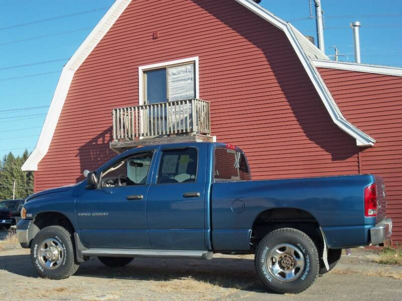2005 Dodge Ram Pickup 2500 for sale at Red Barn Motors, Inc. in Ludlow MA