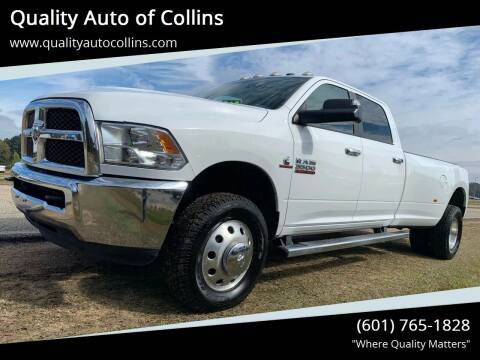2015 RAM Ram Pickup 3500 for sale at Quality Auto of Collins in Collins MS