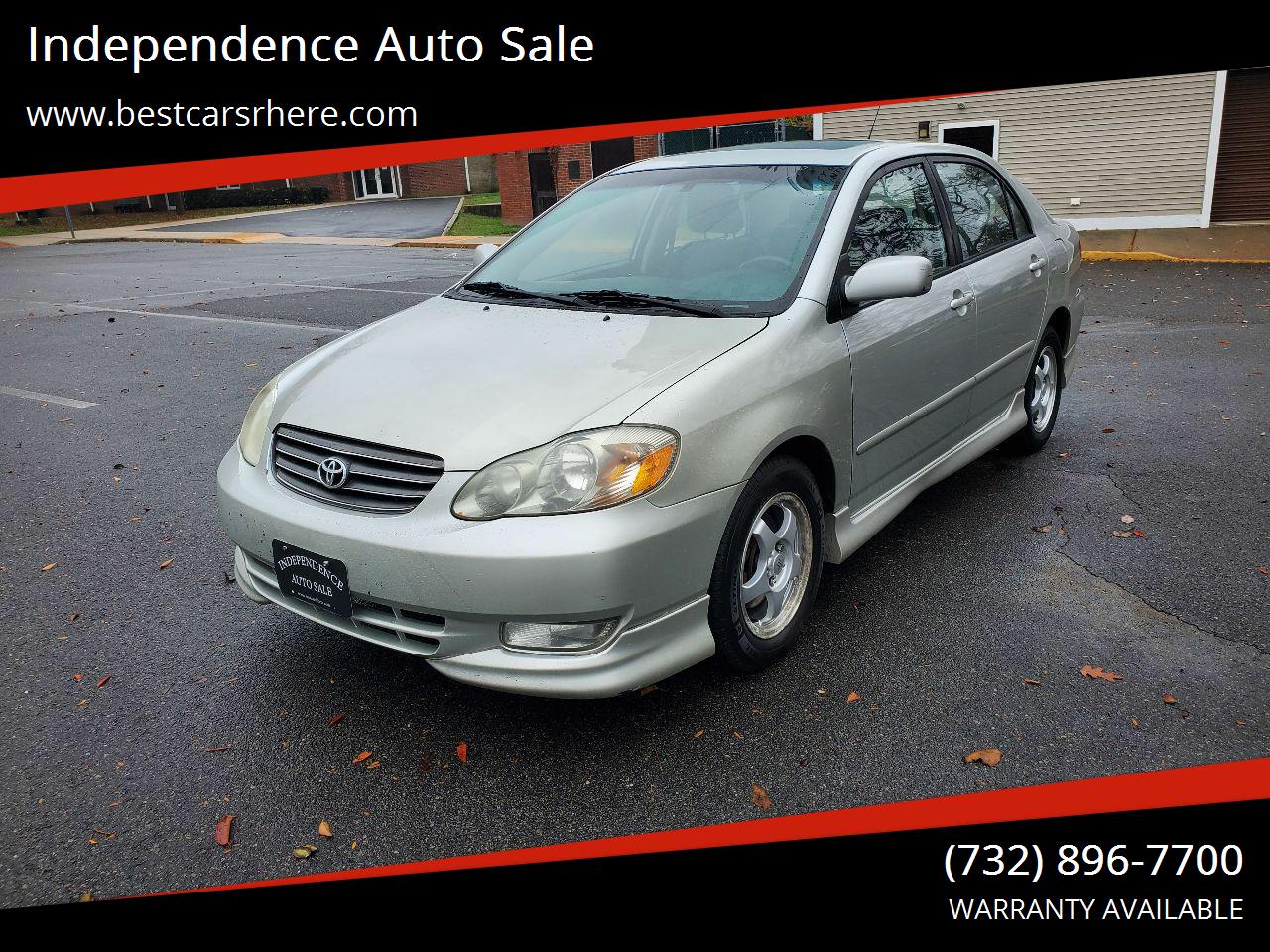 pazayvoywy1ncm https www carsforsale com 2004 toyota corolla for sale c143076