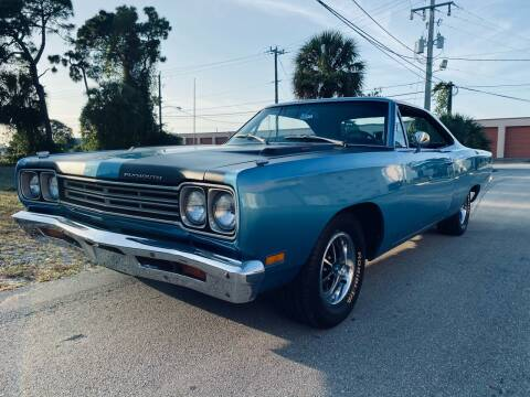 1969 Plymouth Roadrunner for sale at American Classics Autotrader LLC in Pompano Beach FL