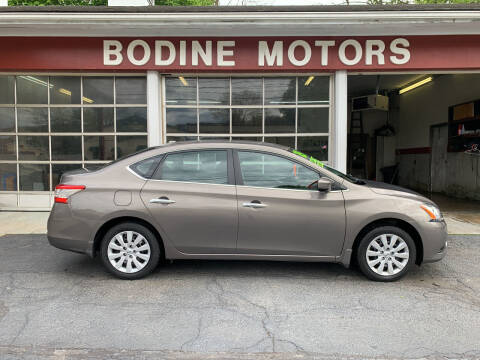 2015 Nissan Sentra for sale at BODINE MOTORS in Waverly NY