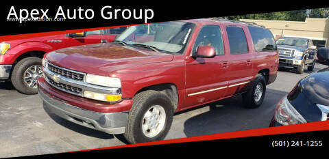 2002 Chevrolet Suburban for sale at Apex Auto Group in Cabot AR