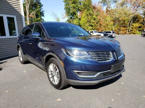 2017 Lincoln MKX for sale at KLC AUTO SALES in Agawam MA