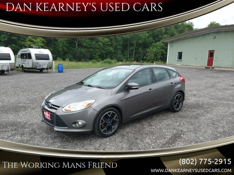 2014 Ford Focus for sale at DAN KEARNEY'S USED CARS in Center Rutland VT