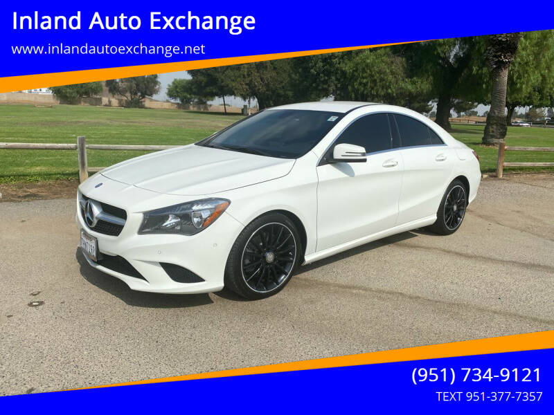 2014 Mercedes-Benz CLA for sale at Inland Auto Exchange in Norco CA