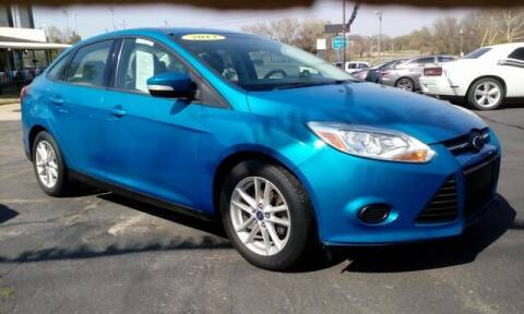 2013 Ford Focus for sale at Jim Clark Auto World in Topeka KS