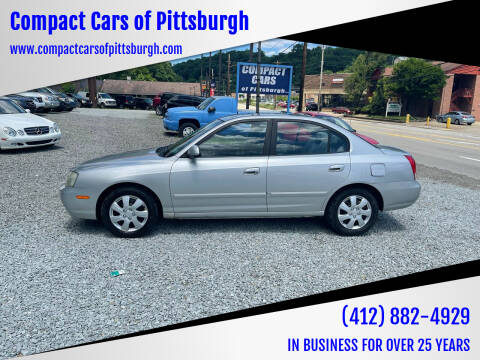 2003 Hyundai Elantra for sale at Compact Cars of Pittsburgh in Pittsburgh PA