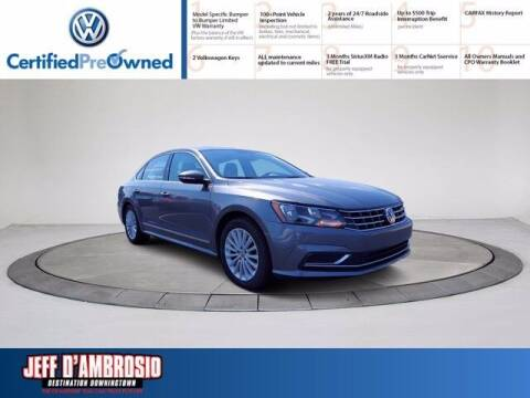 2017 Volkswagen Passat for sale at Jeff D'Ambrosio Auto Group in Downingtown PA