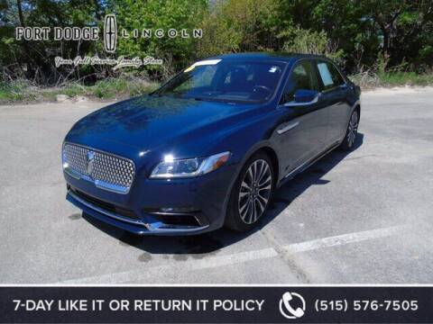 2018 Lincoln Continental for sale at Fort Dodge Ford Lincoln Toyota in Fort Dodge IA
