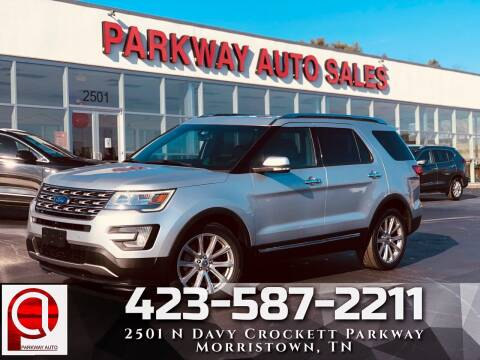2017 Ford Explorer for sale at Parkway Auto Sales, Inc. in Morristown TN