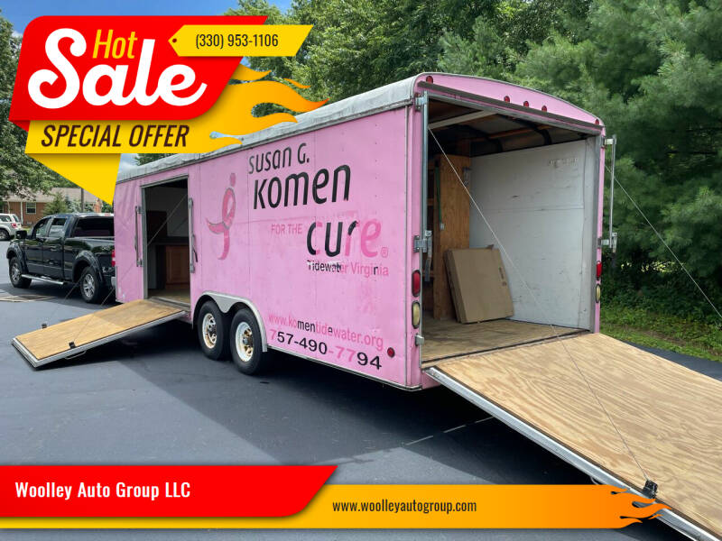 2005 UNITED EXPRESSLINE 24' TRAILER for sale at Woolley Auto Group LLC in Poland OH