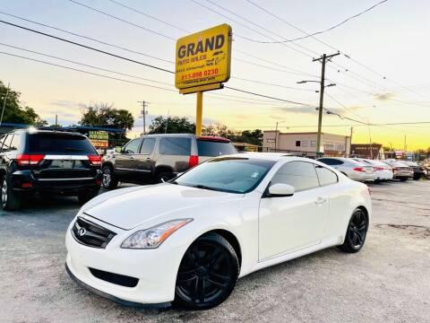 2008 Infiniti G37 for sale at Grand Auto Sales in Tampa FL