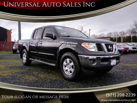 2008 Nissan Frontier for sale at Universal Auto Sales Inc in Salem OR