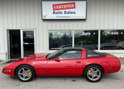1991 Chevrolet Corvette for sale at Certified Auto Sales in Des Moines IA