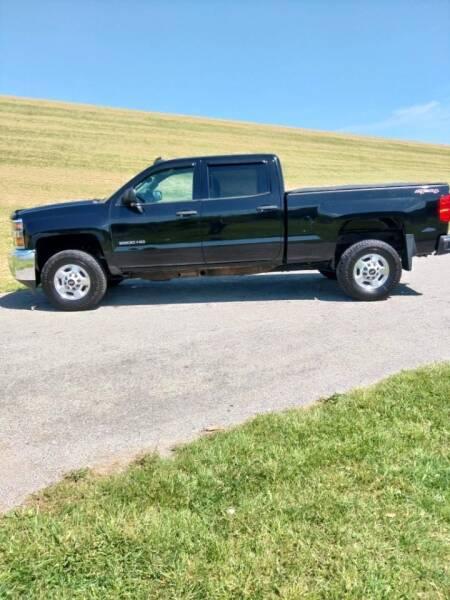 2015 Chevrolet Silverado 2500HD for sale at JJ's Automotive - Regular Inventory in Mt.Pleasant PA