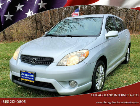 2006 Toyota Matrix for sale at Chicagoland Internet Auto - 410 N Vine St New Lenox IL, 60451 in New Lenox IL