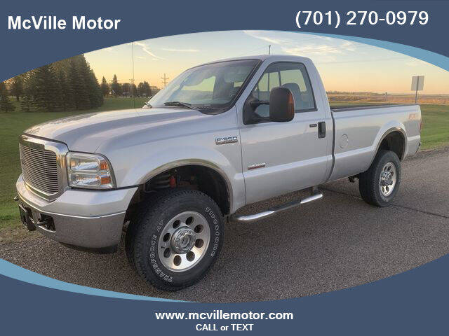 2007 Ford F-350 Super Duty for sale in Mcville, ND