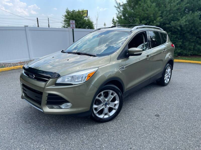 2014 Ford Escape for sale at Giordano Auto Sales in Hasbrouck Heights NJ