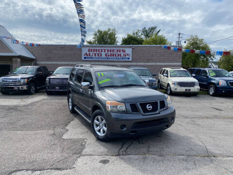 2011 Nissan Armada for sale at Brothers Auto Group in Youngstown OH