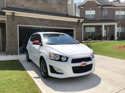 2013 Chevrolet Sonic for sale at Mad Motors LLC in Gainesville GA