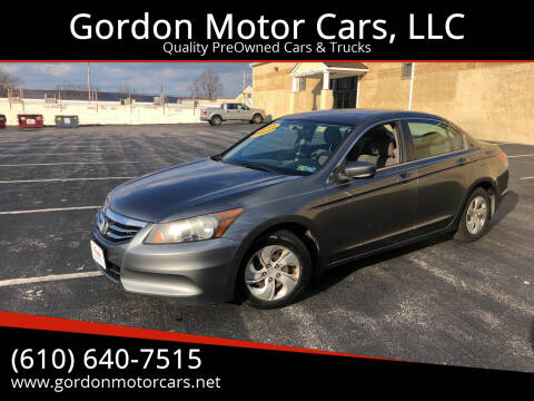 2011 Honda Accord for sale at Gordon Motor Cars, LLC in Frazer PA