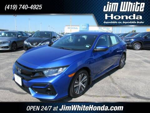 2020 Honda Civic for sale at The Credit Miracle Network Team at Jim White Honda in Maumee OH