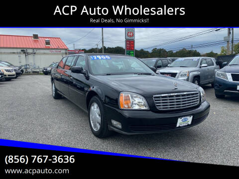 2000 Cadillac Deville Professional for sale at ACP Auto Wholesalers in Berlin NJ