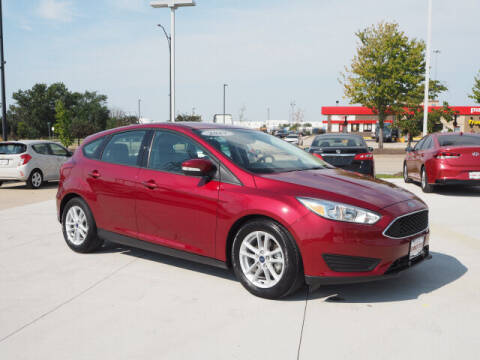 2017 Ford Focus for sale at SIMOTES MOTORS in Minooka IL