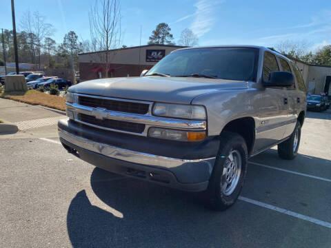 2003 Chevrolet Tahoe for sale at JV Motors NC LLC in Raleigh NC