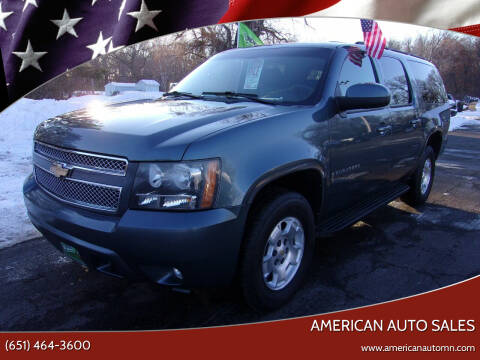 2009 Chevrolet Suburban for sale at American Auto Sales in Forest Lake MN