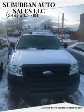 2008 Ford F-150 for sale at Suburban Auto Sales LLC in Madison Heights MI