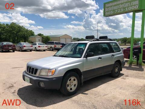 2002 Subaru Forester for sale at Independent Auto in Belle Fourche SD