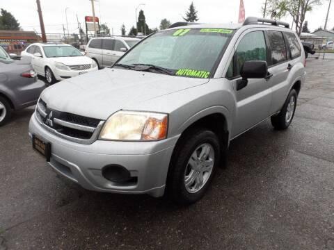 2007 Mitsubishi Endeavor for sale at Gold Key Motors in Centralia WA