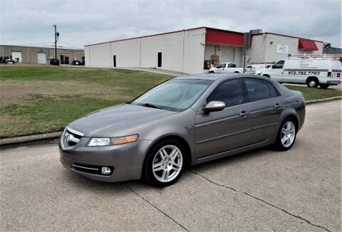 2008 Acura TL for sale at Image Auto Sales in Dallas TX