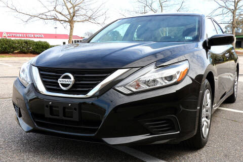 2016 Nissan Altima for sale at Prime Auto Sales LLC in Virginia Beach VA