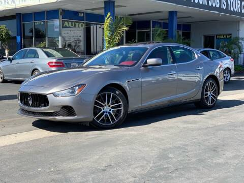2015 Maserati Ghibli for sale at Euro Zone Auto in Stanton CA