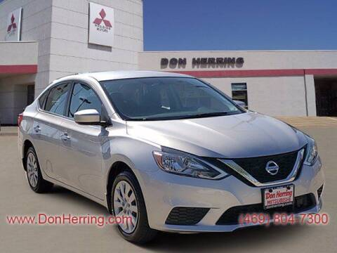 2019 Nissan Sentra for sale at DON HERRING MITSUBISHI in Irving TX
