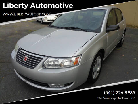 2006 Saturn Ion for sale at Liberty Automotive in Grants Pass OR
