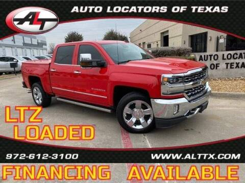 2017 Chevrolet Silverado 1500 for sale at AUTO LOCATORS OF TEXAS in Plano TX