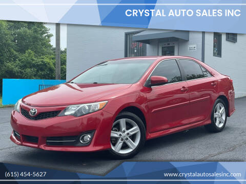 2014 Toyota Camry for sale at Crystal Auto Sales Inc in Nashville TN