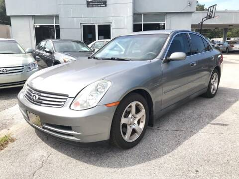 2004 Infiniti G35 for sale at Popular Imports Auto Sales in Gainesville FL