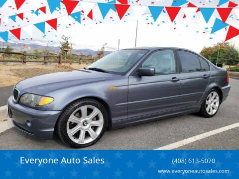 2003 BMW 3 Series for sale at Everyone Auto Sales in Santa Clara CA