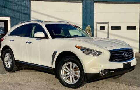 2012 Infiniti FX35 for sale at Saugus Auto Mall in Saugus MA