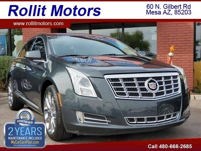 2013 Cadillac XTS for sale at Rollit Motors in Mesa AZ