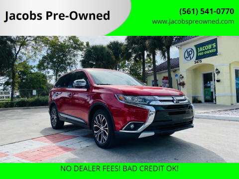2016 Mitsubishi Outlander for sale at Jacobs Pre-Owned in Lake Worth FL