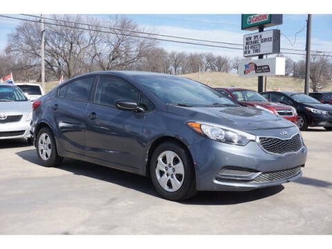2016 Kia Forte for sale at Sand Springs Auto Source in Sand Springs OK