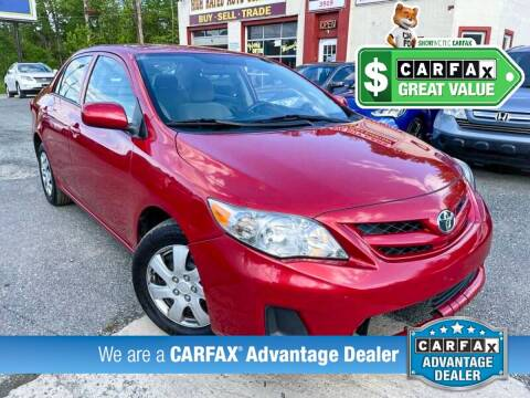 2012 Toyota Corolla for sale at High Rated Auto Company in Abingdon MD