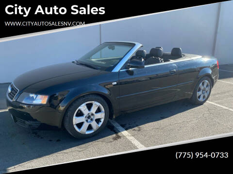 2006 Audi A4 for sale at City Auto Sales in Sparks NV